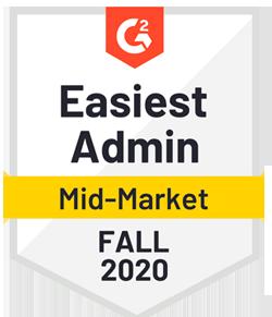 Easiest Admin - Fall 2020