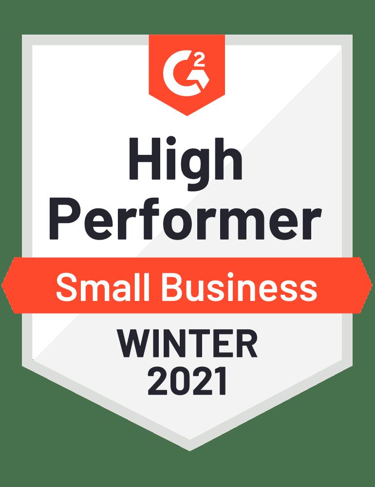 High Performer - Winter 2021